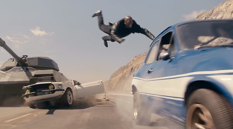 fast and the furious, The Rock, paul walker