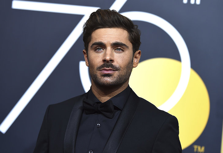 Zac Efron på Golden Globe Awards